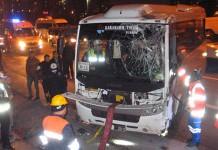 TEM'de Facia Gibi Kaza: 1 Ölü 17 Yaralı