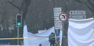 Ankara'da Alçak Saldırının İzleri