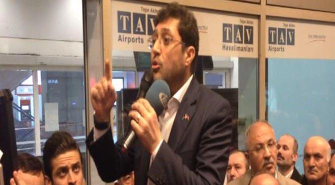 Beşiktaş Belediyesi Temizlik İşçileri Öfkesi Havalimanında Dindi!