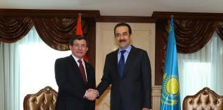 Davutoğlu, Başbakan Olarak İlk Kez Kazanistan'da