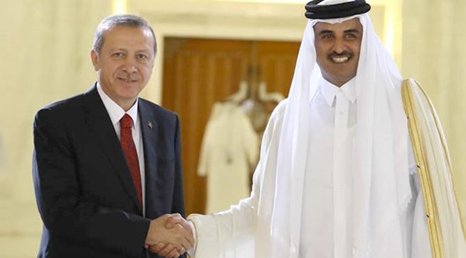 Erdoğan'ın Katar Sevdası! 18 Ayda 7. Görüşme Olacak!