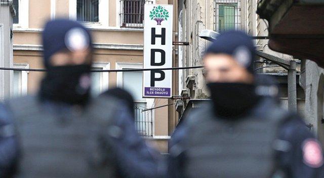 HDP İlçe Başkanına Şok Gözaltı!