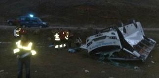 Hentbol Takımı Oyuncularını Taşıyan Otobüs Kaza Yaptı: 1 Ölü, 12 Yaralı