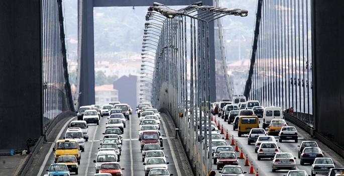 Köprüden Geçen Araç Sayısı İlk Kez Azaldı