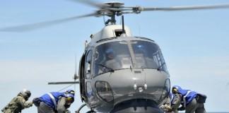 Komşu'da Helikopter Faciası!