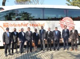 Mercedes'in Son Travego S'ini İstanbul Seyahat Aldı