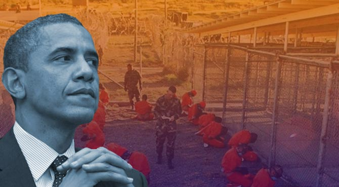 Obama, Guantanamo'nun Kapatılması İçin Göz Kırptı!