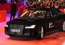 Sürücüsüz Audi 'Kırmızı Halı'da!