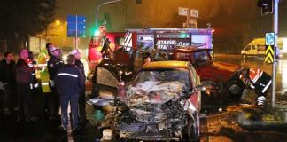 Sarıyer'de Kaza: 1 Ölü, 2 Yaralı