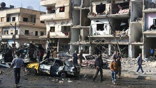Suriye'de Kanlı Saldırı: 140 Ölü