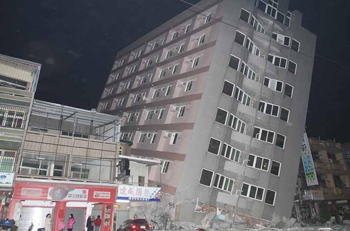 Tayvan'da 6,4 Büyüklüğünde Deprem!