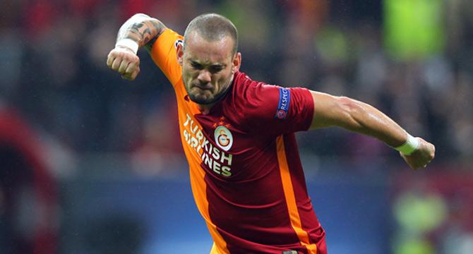 Wesley Sneijder Çılgına Döndü!