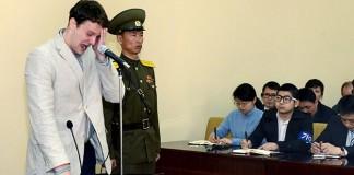 İşte Kuzey Kore'nin ABD'li Öğrenciye Verdiği Ceza!