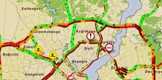 Şüpheli Araç İstanbul'u Kilitledi!