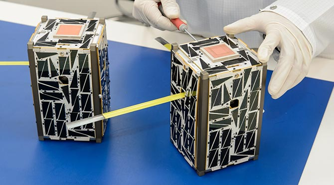 3 Boyutlu Yazıcıda Üretilen Uydu Uzaya Gönderiliyor!