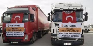 Ak Parti'nin Bayırbucak Yardımı Diyarbakır'a Gitti!