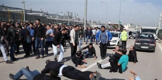Metal İşçilerine Polis Müdahalesi