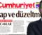 Cumhuriyet gazetesine 'Fahrettin Altun'un evine ilişkin haberleri' nedeniyle  üç ayrı 'tekzip' yayınlama cezası