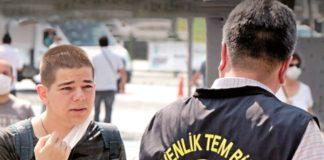 Beşiktaş'ta maskesiz gezenlere 900 TL ceza yazıldı