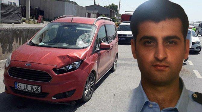 Denetim sırasında otomobilin çarptığı polis şehit oldu!