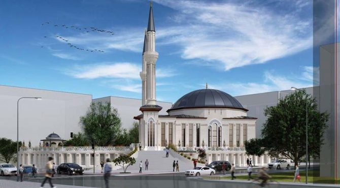 Mansur Yavaş, Kızılay'a cami yaptırıyor,Proje Diyanet Vakfına ait