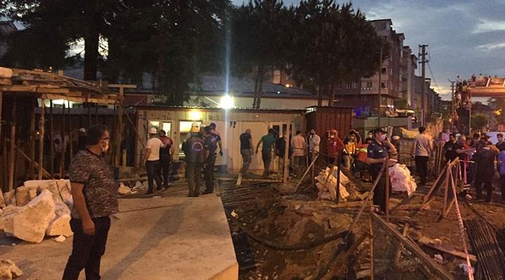 Ordu'da otel inşaatında göçük: 1 kişi hayatını kaybetti