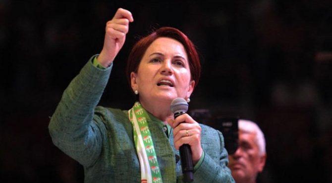Saadet Parti'li belediyenin isyanına Akşener destek verdi