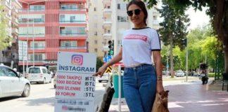 Sokakta , günde 50 bin sosyal medya takipçisi satıyor