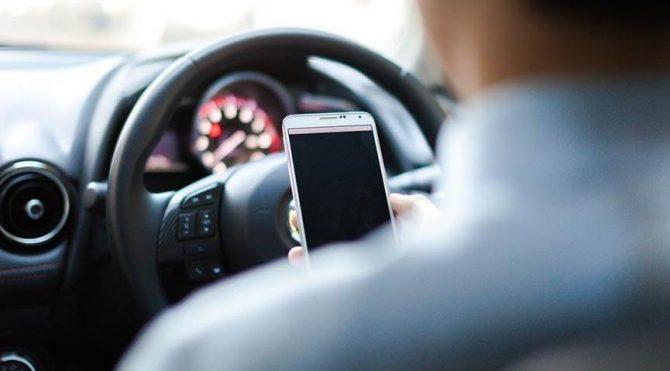 Trafikte cep telefonu denetlemesinde çarpıcı rakamlar!