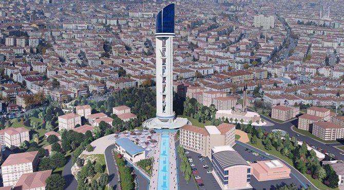 Bir türlü bitmeyen Keçiören Cumhuriyet Kulesi için 60 milyonluk bütçe