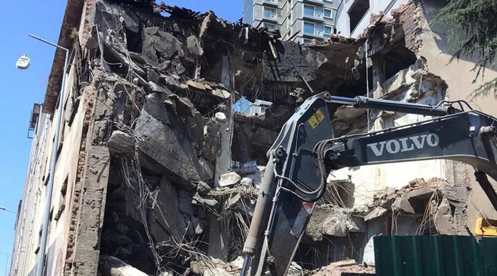 Diyanet'e devredilen Bomonti Bira Fabrikası'nın yıkımına başlandı
