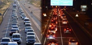 Haftasonu tatilcileri 20 kilometrelik araç kuyruğu oluşturdu