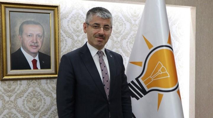 Kayseri'de yeni atanan ilçe milli eğitim müdürlerini AKP il başkanı açıkladı