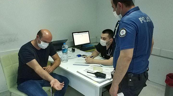 Samsun'da iki doktoru cezaevinden yeni çıkan şahıs darp etti