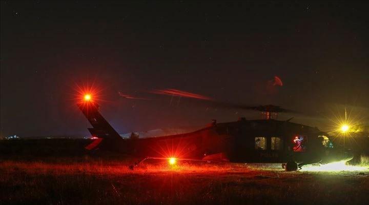 Van'da keşif uçağı düştü: 7 emniyet personeli şehit oldu