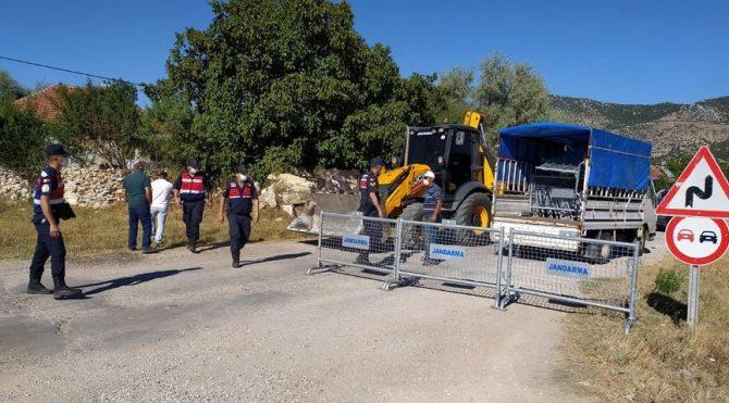 Corona vakaları artınca bin nüfuslu köy karantinaya alındı!