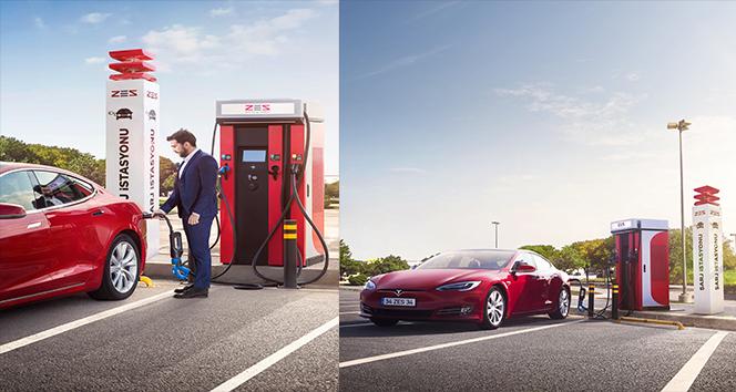 Elektrikli otomobil şarj istasyonları sayısı hızla artıyor