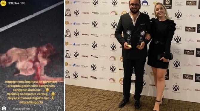Köpeği ezip sigorta şirketinin reklamını yapan o reklamcıya 'Yılın En İyi Reklamcısı Ödülü' verildi