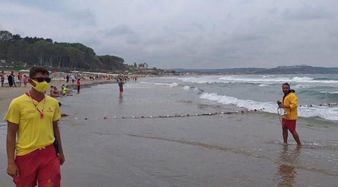 Şile'de denize girmek yasaklandı