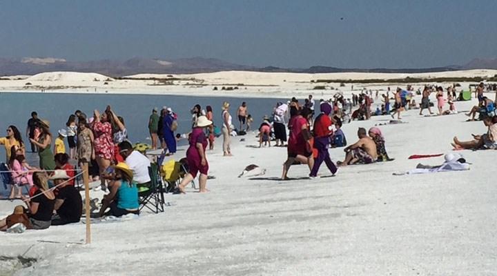 Vali duyurdu:Salda Gölü'nde ziyaretçi sayısında kısıtlama yapılacak