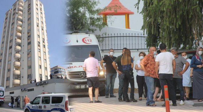 Adana'da pencere silerken 11. katta düşen kadın feci şekilde can verdi