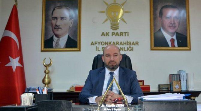 AKP Afyonkarahisar İl Başkanı istifa etti!