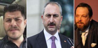 Troller bu kez Adalet Bakanı Gül'ü hedef aldı