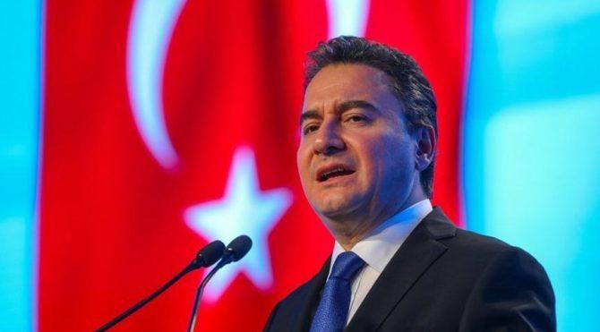 Ali Babacan sahaya iniyor, ilk durak Çorum