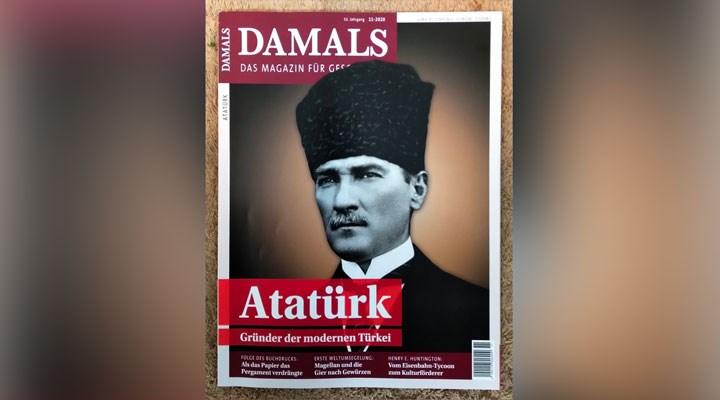 Alman tarih dergisi Damals'tan Atatürk özel dosyası:30 sayfa ayırdı