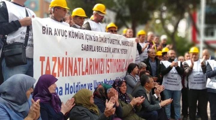 Ankara'ya yürüyen Soma maden işçileri Salihli'de gözaltına alındı
