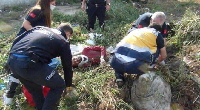 Bursa'da yaşandı; Otların arasında uyuyorken üzerine toprak döktüler