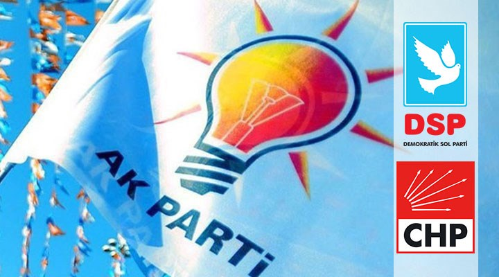 CHP ve DSP'li iki belediye başkanı AKP'ye geçti