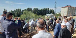 Helikopterden atıldığı iddia edilen Turgut toprağa verildi