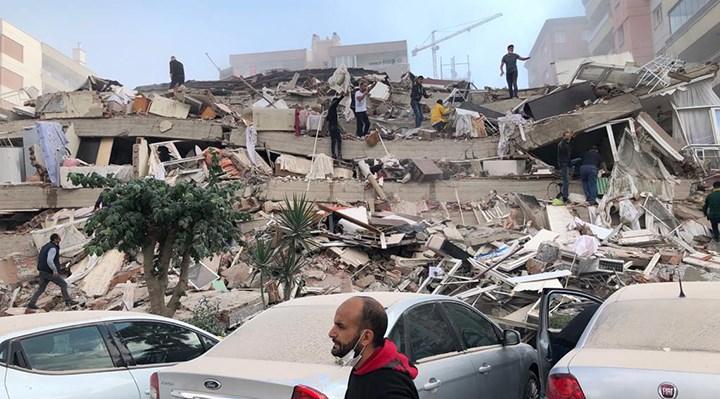İzmir'de AFAD'ın ölçümüne göre 6.6 büyüklüğünde bir deprem meydana geldi